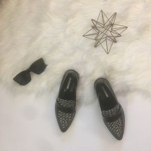 Zara Pointed Toe Loafers